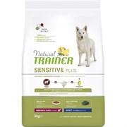 Trainer - Сухой беззерновой корм для взрослых собак средних и крупных пород без глютена (с кониной и рисом) Natural Sensitive Plus