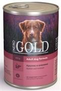 Nero Gold Super Premium - Консервы для собак (кролик и оленина) Dog Adult Rabbit & Venison