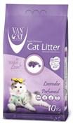 Van Cat - Наполнитель комкующийся без пыли для кошек (с ароматом лаванды) Lavender