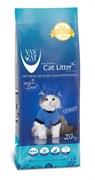Van Cat - Наполнитель комкующийся без пыли для кошек (100% натуральный) Natural