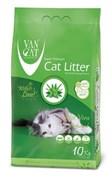 Van Cat - Наполнитель комкующийся без пыли для кошек (с ароматом алое вера) Aloe Vera