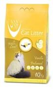 Van Cat - Наполнитель комкующийся без пыли для кошек (с ароматом ванили) Vanilla