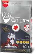 Van Cat - Наполнитель комкующийся без пыли для кошек (с активированным углем)