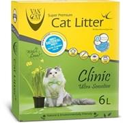 Van Cat - Наполнитель комкующийся без пыли для кошек (с антибактериальным эффектом)