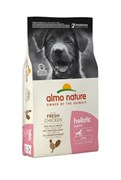 Almo Nature - Сухой корм для щенков крупных пород (с курицей) Holistic Large Puppy & Chicken