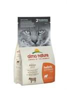 Almo Nature - Сухой корм для взрослых кошек (с говядиной и коричневым рисом) Adult Cat Beef and Rice
