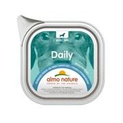 """Almo Nature - Паштет для собак """"Меню с треской и стручковой фасолью"""" Daily Menu Cod and Green Beans"""