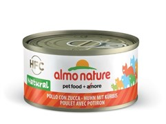 Almo Nature - Консервы для кошек (с курицей и тыквой, 75% мяса) Legend Adult Cat Chicken & Pumpkin