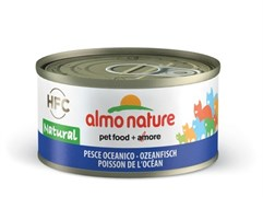 Almo Nature - Консервы для кошек, 75% мяса (с Океанической рыбой) Legend Adult Cat Oceanic Fish