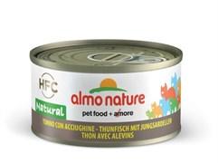 Almo Nature - Консервы для кошек (с Тунцом и Сардинками) Legend Adult Cat Tuna and White Bait