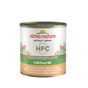 Almo Nature - Консервы для кошек (с Лососем и Курицей) Classic Adult Cat Salmon and Chicken