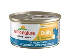 """Almo Nature - Консервы нежный мусс для кошек """"Меню с Океанической рыбой"""" Daily Menu Oceanic Fish mousse"""