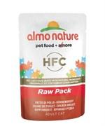 "Almo Nature - Паучи для кошек ""Куриная грудка"", 75% мяса Classic Raw Pack Chicken Breast"
