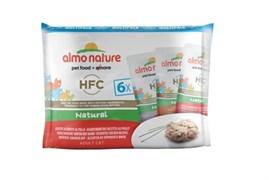 "Almo Nature - Паучи для кошек ""Ассорти с курицей"" (Набор 6 шт. по 55 г) Multipack Classic Chicken"