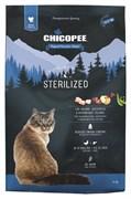Chicopee - Сухой корм для стерилизованных кошек (с птицей) HNL Cat Sterilized