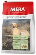 Mera - Сухой полнорационный корм для взрослых собак всех пород (с белком насекомых) PURE SENSITIVE ADULT INSECT PROTEIN