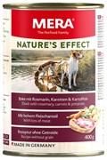 Mera - Консервы для собак (утка с розмарином, морковью и картофелем) NATURE'S EFFECT NASSFUTTER ENTE&KARTOFFEL