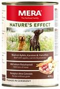 Mera - Консервы для собак (говядина с яблоками, морковью и картофелем) NATURE'S EFFECT NASSFUTTER RIND&KARTOFFEL