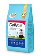 Dailycat - Беззерновой сухой корм для взрослых стерилизованных кошек (с лососем и тунцом) Grain Free Adult Steri lite