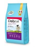 Dailycat - Беззерновой сухой корм для взрослых стерилизованных кошек (с уткой и кроликом) Grain Free Adult Steri lite