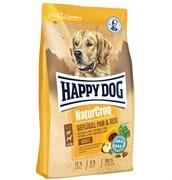Happy Dog - Сухой корм для взрослых собак (с птицей и рисом) NaturCroq