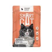 Smart Cat - Паучи для взрослых кошек и котят (кусочки индейки в нежном соусе)