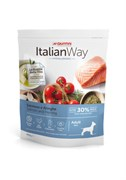 Italian Way - Сухой корм безглютеновый для взрослых собак малых пород с чувствительной кожей (лосось и сельдь) Mini Hypoallergenic Salmon/Herrings