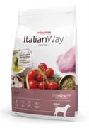 Italian Way - Сухой корм беззерновой для собак крупных пород с чувствительным пищеварением (со свежей уткой) Maxi Sensitive Duck