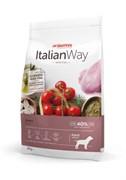 Italian Way - Сухой корм беззерновой для собак средних пород с чувствительным пищеварением (со свежей уткой) Medium Sensitive Duck