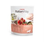 Italian Way - Сухой корм беззерновой для щенков всех пород (со свежей курицей и индейкой) Junior Starter Chicken/Turkey
