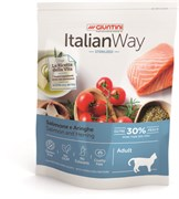 Italian Way - Сухой корм безглютеновый для стерилизованных кошек (с лососем и сельдью) Sterilized Salmon/Herrings
