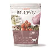 Italian Way - Сухой корм беззерновой для кошек с чувствительным пищеварением (со свежей уткой) Sensitive Duck