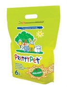 Pretty Cat - Наполнитель для грызунов осиновые гранулы, 6 л, PrettyPet
