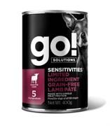 GO! Natural Holistic - Консервы беззерновые для собак с чувствительным пищеварением (с ягненком) Sensitivities Limited Ingredient Grain Free Lamb Pate DF