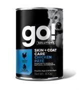 GO! Natural Holistic - Консервы беззерновые для собак всех возрастов (с курицей) Chicken Pate DF