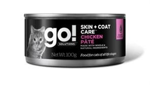 GO! Natural Holistic - Консервы беззерновые для кошек (с курицей) Grain Free Chicken Pate
