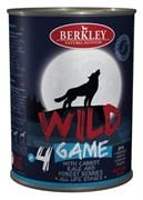 Berkley - Консервы для собак (с дичью, морковью, капустой и лесными ягодами)
