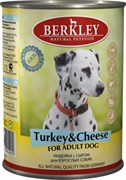 Berkley - Консервы для собак (с индейкой и сыром) Adult Turkey&Cheese