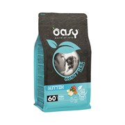OASY - Сухой корм беззерновой для котят и беременных и кормящих кошек (с рыбой) Dry Cat Grain Free Kitten