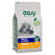 OASY - Сухой корм для пожилых кошек (с птицей) Dry Cat Mature&Senior