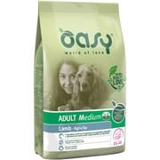 OASY - Сухой корм для взрослых собак средних пород (с ягненком) Dry Dog Adult Medium Lamb