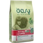 OASY - Сухой корм для пожилых собак всех пород (с курицей) Dry Dog Mature and Senior