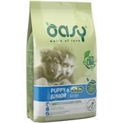 OASY - Сухой корм для щенков крупных пород (с курицей) Dry Dog Puppy & Junior Large