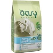 OASY - Сухой корм для щенков средних пород (с курицей) Dry Dog Puppy & Junior Medium