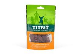 TiTBiT - Лакомство для собак (строганина из мяса утки)