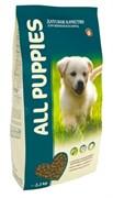 All Dogs полнорационный корм для щенков All Puppies