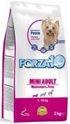Forza10 - Сухой беззерновой корм для взрослых собак мелких пород (с рыбой) Mini Adult Maintenance