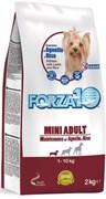 Forza10 - Сухой корм для взрослых собак мелких пород (с ягнёнком и рисом) Mini Adult Maintenance 24/12