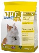 Forza10 - Сухой корм для стерилизованных кошек (с курицей и экстрактом жёлтых фруктов) Mr.Fruit Neutered