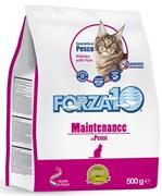 Forza10 - Сухой корм для взрослых кошек (с рыбой) Maintenance